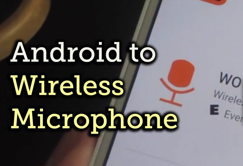 Use Any Android Device as Mic for Bluetooth Speakers - Laird Scranton