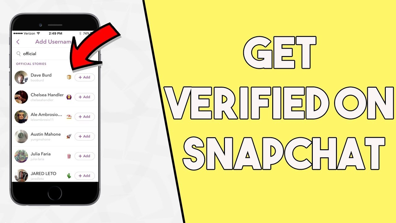 Useful Tips To Get Your Account Verified On Snapchat Laird Scranton